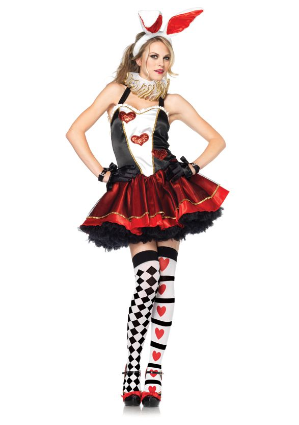 Tea Party Bunny Adult Halloween Costume Ideas #halloween #adult - halloween girl costume ideas