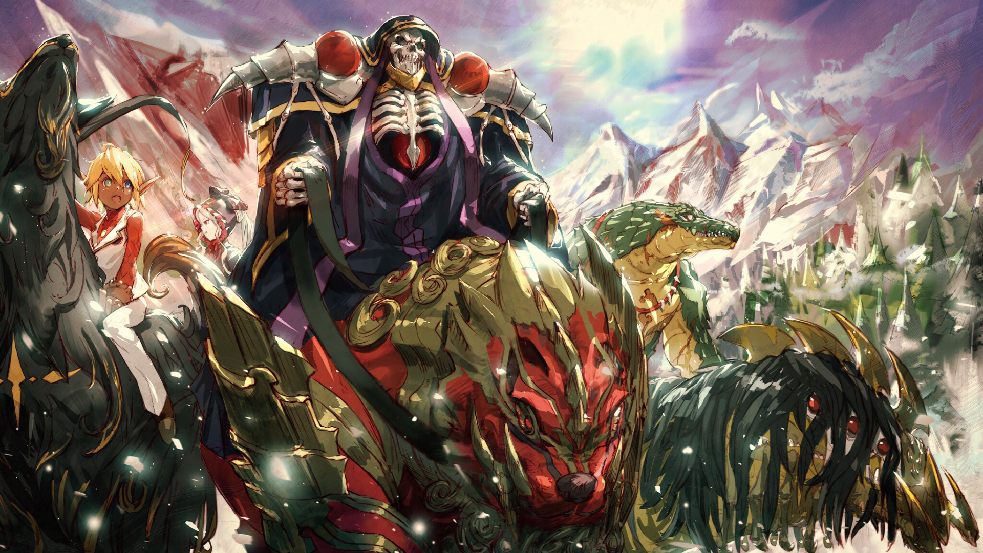 Glorious Lord Ainz Overlord 1920x1080 Need Trendy Iphone7 Iphone7plus Case Check Out Https Ift Tt 2itgto5 Indonesia