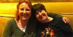 Nancy and I at Xena Con