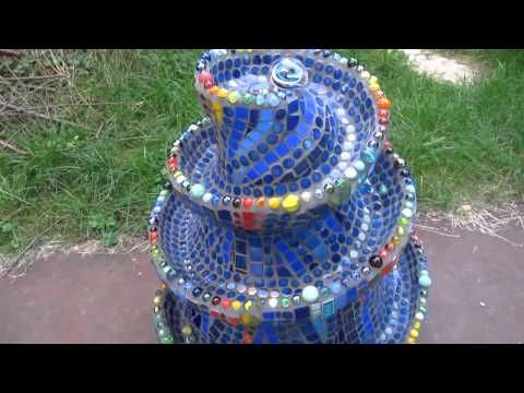 ▶ Mosaic marble run made by artist Frances Green - YouTube