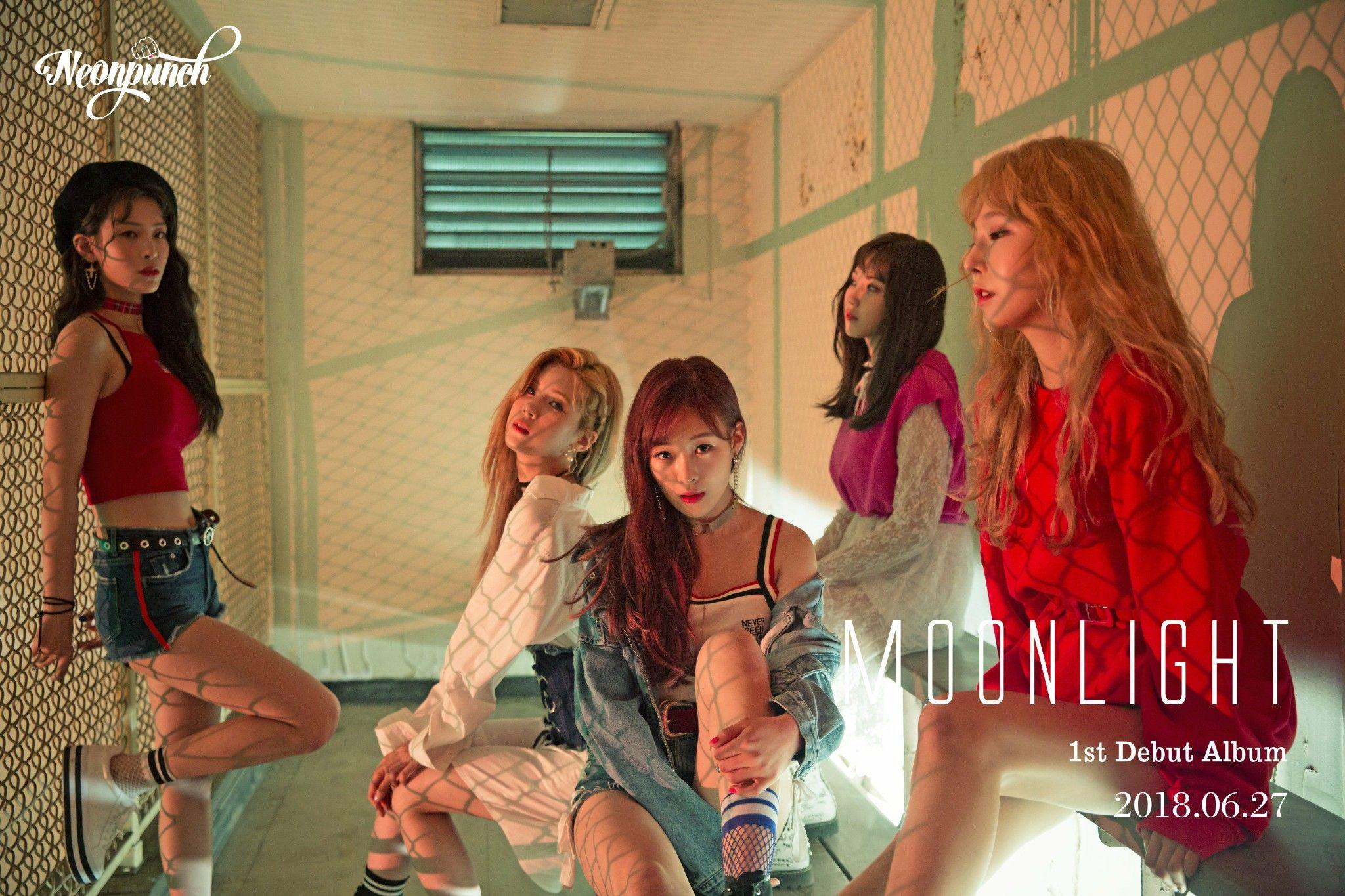 Neonpunch 네온펀치 (With images) Kpop girls, Debut album, Album
