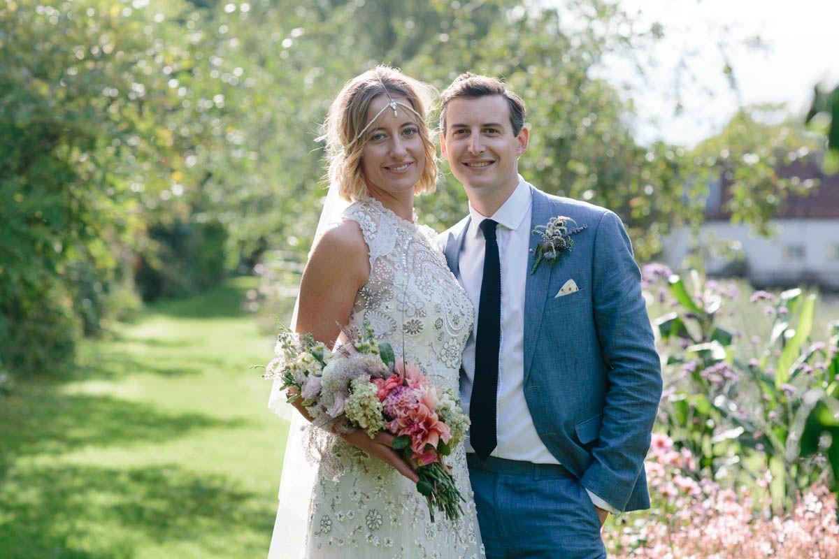 Boho garden wedding dress by needle u thread photo by christine