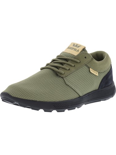 cb10f00e672b Supra Men s Hammer Run Olive   Black (Green Black) Ankle-High Running Shoe  - 11M