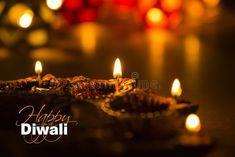Happy Diwali - Diwali Greeting Card With Illuminated Diya Stock Photo - Image of background, floral: 101310372 #happydiwaligreetings