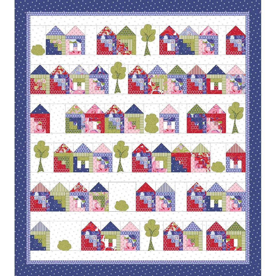 Jillily Studio Tiny House Craze Quilts Quilt Patterns