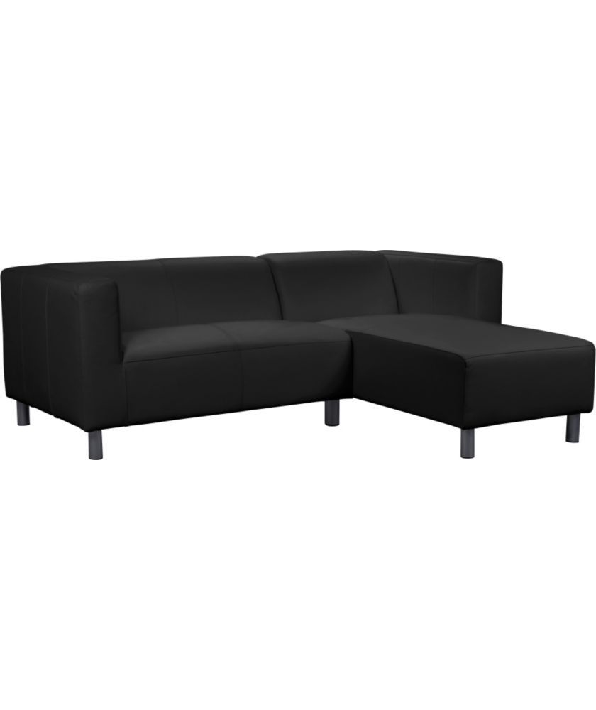 Buy Argos Home Moda Right Corner Fabric Sofa Black Sofas Leather Corner Sofa Corner Sofa Sofa Offers