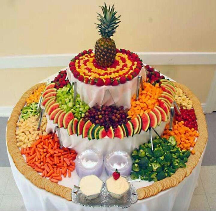 Pinterest Wedding Food: Presentación Brutal