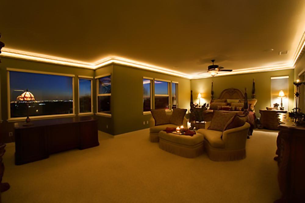 Image Result For Best Rope Lights For Crown Molding Room Master Bedroom Lighting Bedroom Ceiling Light Bedroom Lighting