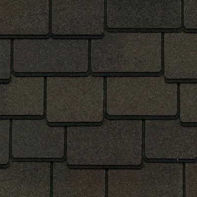Best Gaf Woodland Value Collection Woodberry Brown 400 x 300