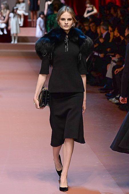 Dolce & Gabbana - Fall 2015 Ready-to-Wear - Look 49 of 89