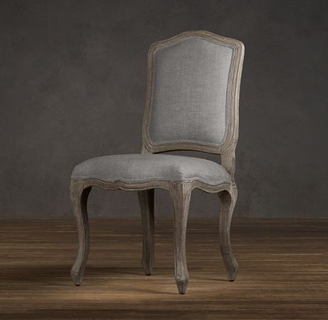 Vintage French Camelback Upholstered Side Chair | Upholstered Chairs | Restoration Hardware