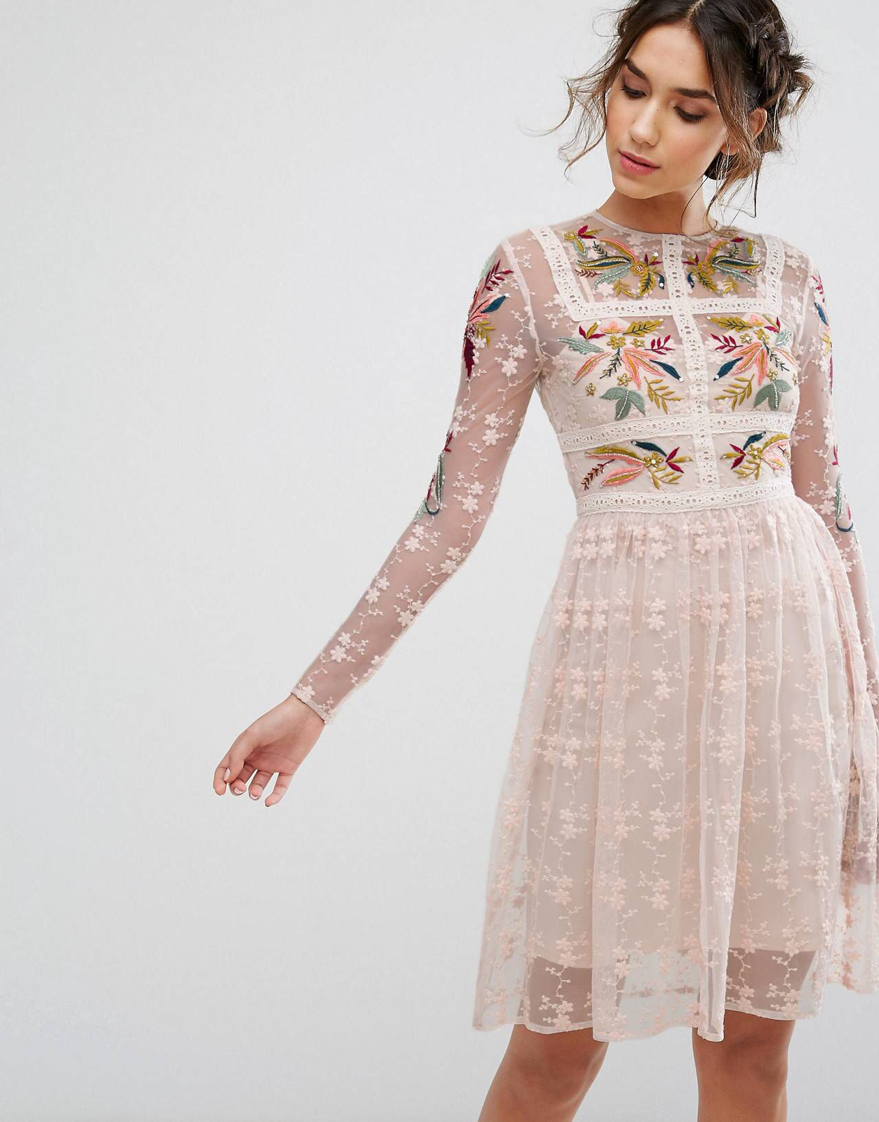 2c8e13d7 LOVE this from ASOS! | Bohemian Style in 2019 | Fashion, Mini skater ...