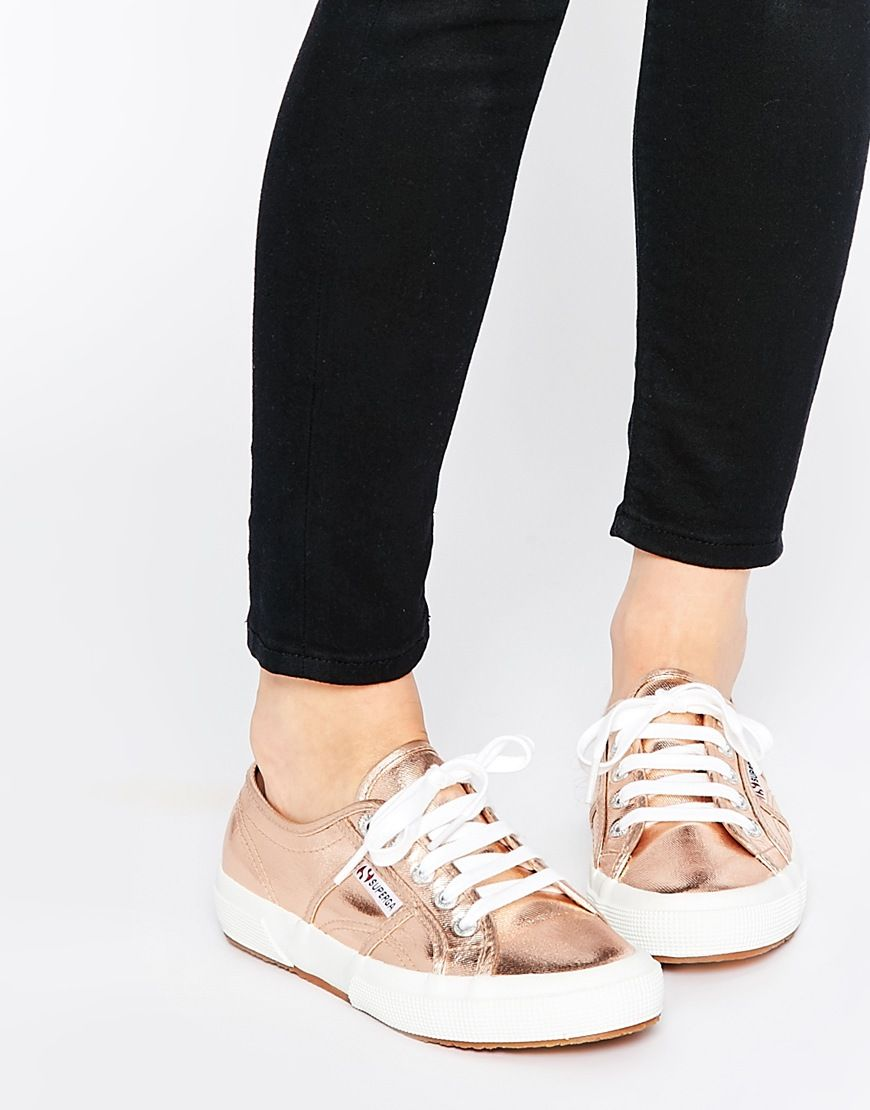 rose   ASOS   Superga sneakers
