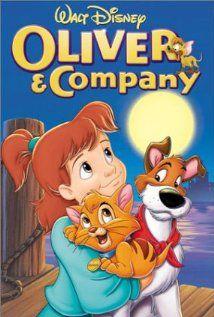 Oliver Company 1988 Filmes Infantis Adoro Cinema Animacao