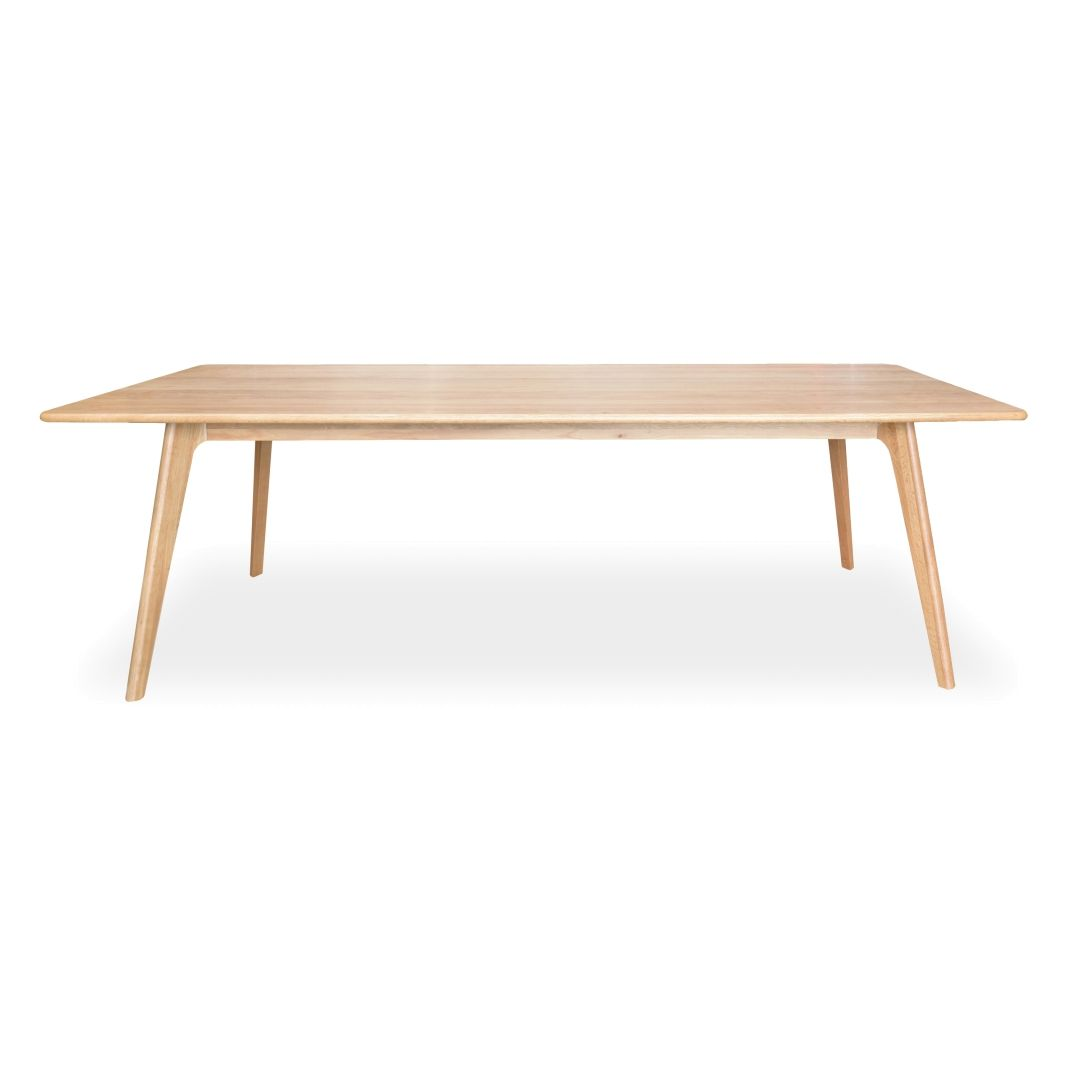Olsen 2 4m Solid Oak Dining Table Solid Oak Dining Table Oak