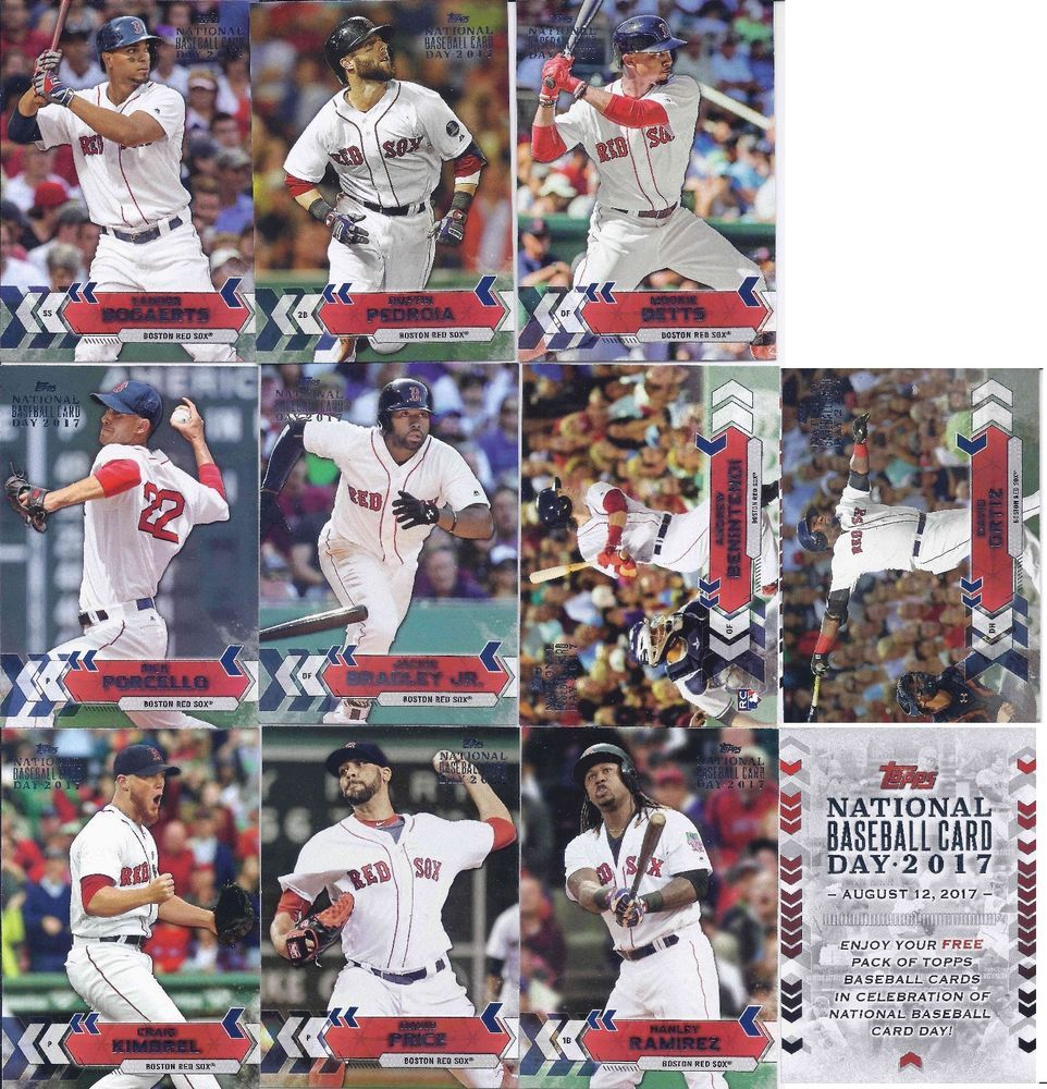 2017 Topps National Baseball Card Day Boston Red Sox 3