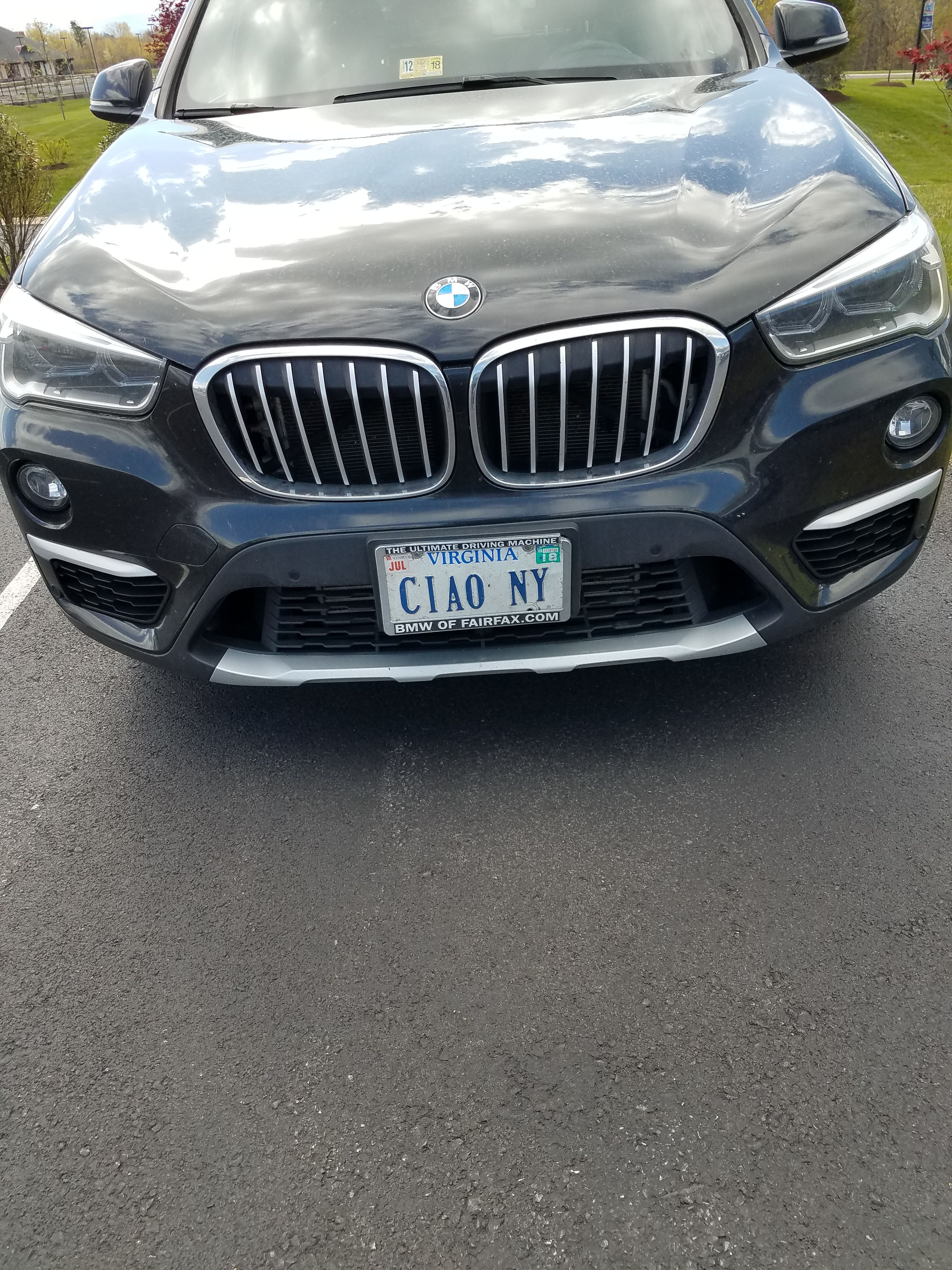 Ciao Ny In Virginia With Images Car License Plates Bmw Car Bmw