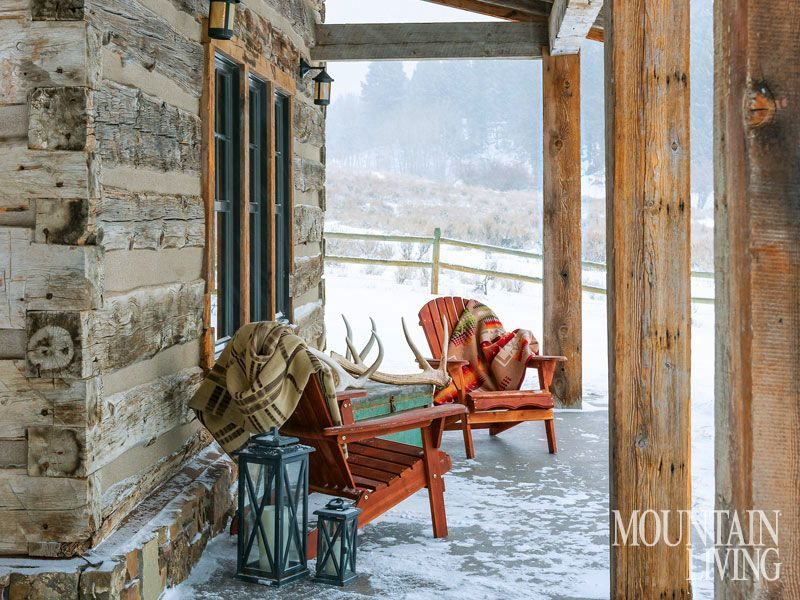 Log Cabin In Helena, Montana Nolte Added The Wrap Around Porch To The  Original Cabinu0027s Design