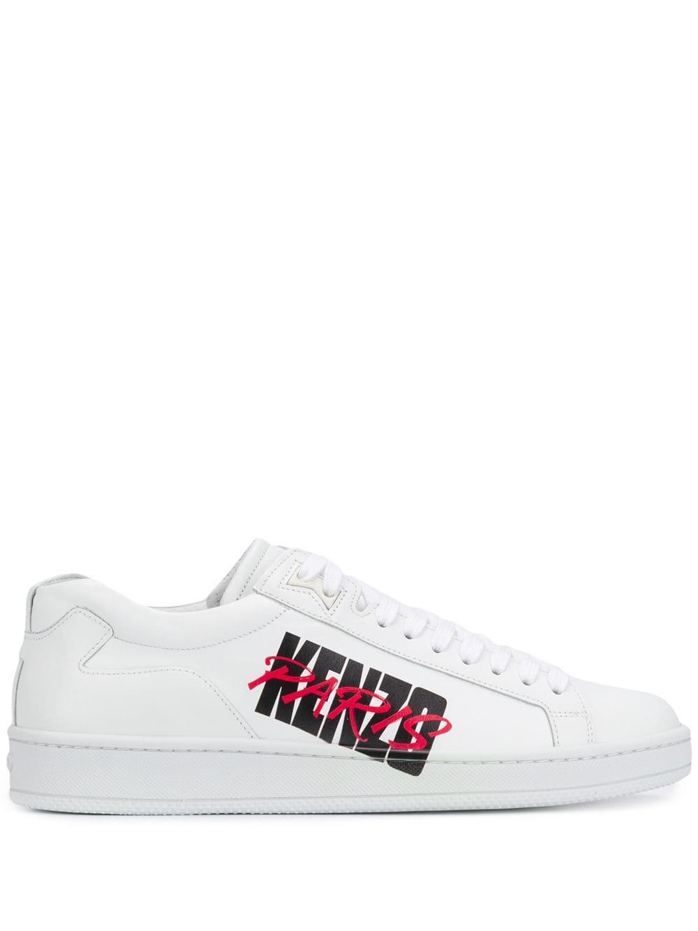 Kenzo Paris运动鞋 In White | ModeSens