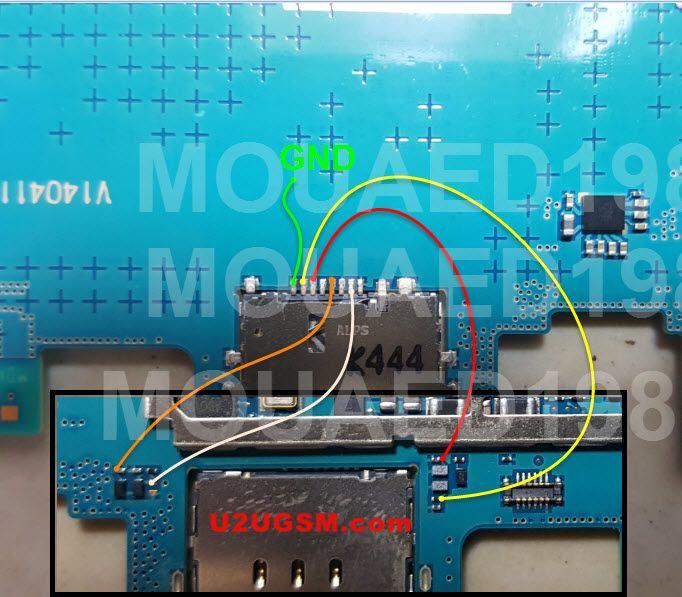 Samsung Galaxy Tab 3 P5200 Insert Sim Card Problem Solution Jumper