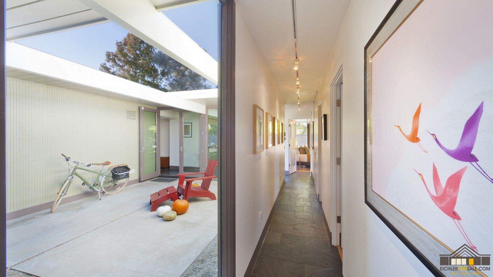 Eichler Atriums Atrium Photo Gallery For Mid Century Modern