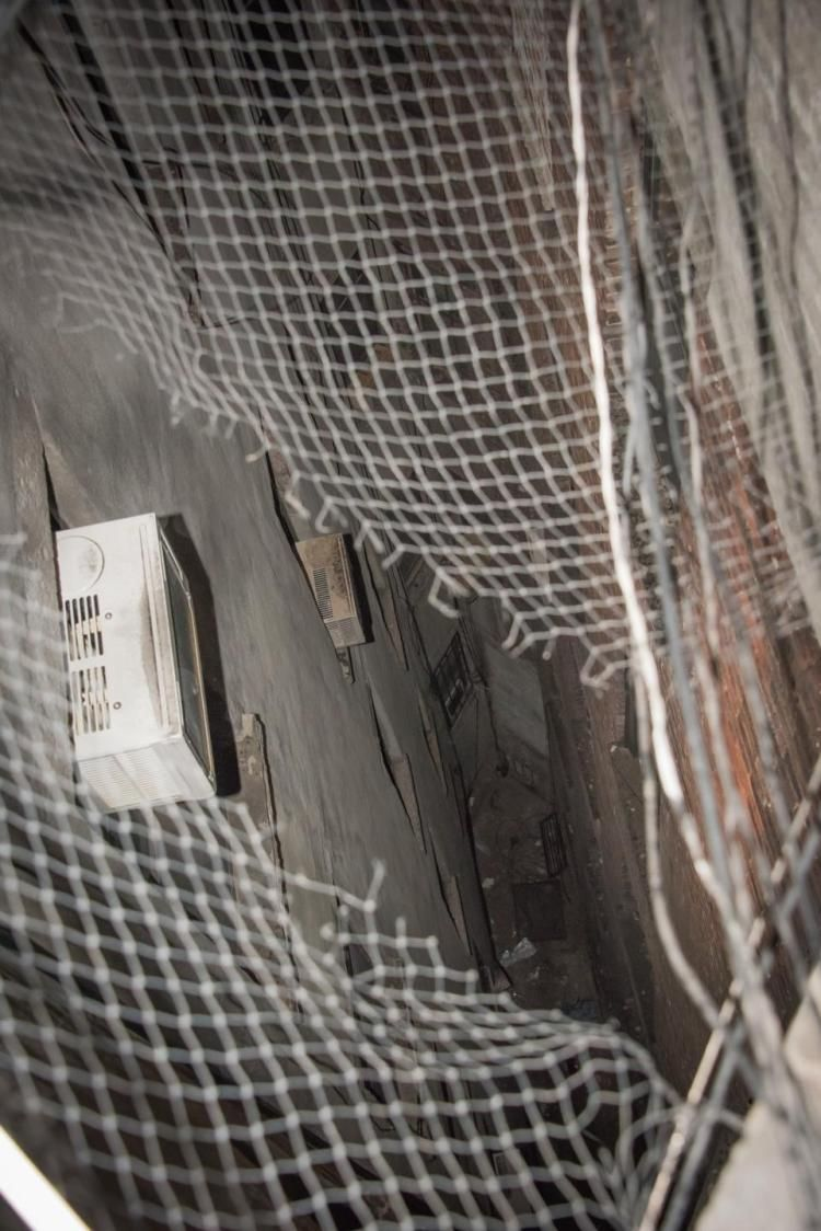 Apartment Building Air Shaft a battle for light and air at an upper east side building | upper