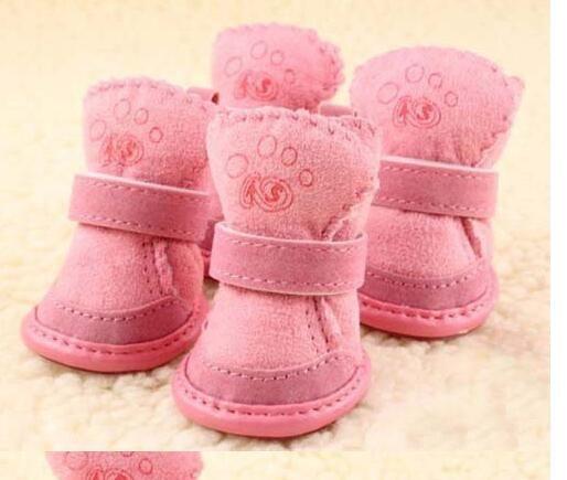 96b3f2e309371 Free shipping pet dog christmas shoes winter warm shoes for dog Pet ...