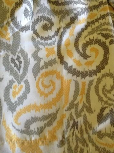 Threshold Yellow Gray Paisley Shower Curtain Target