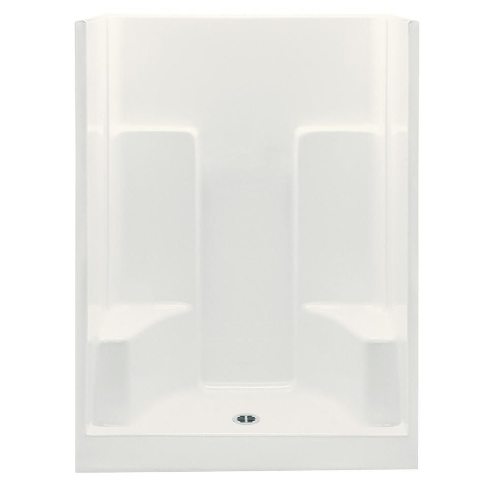 Aquatic Everyday 60 In X 35 In X 75 In 1 Piece Shower Stall