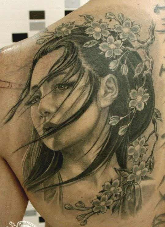 fa70b49fa 50 Amazing Geisha Tattoos Designs and Ideas For Men And Women ...