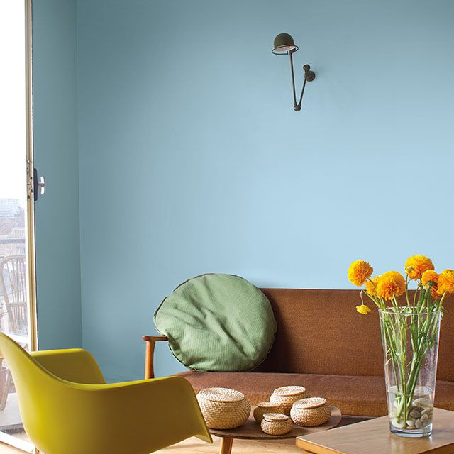 Peinture Murs Et Boiseries Tollens Mise En Teinte Bleu Rétro