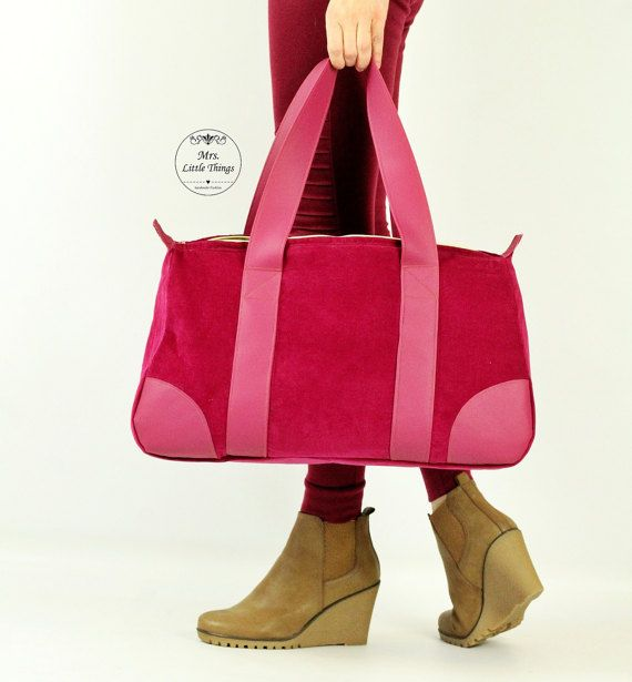 EVERY DAY bag - purse with a zipper - PDF sewing pattern - 2 sizes ...
