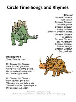 dinosaurs lesson plan for preschool dinosaur lesson plans preschool dinosaur songs and 333