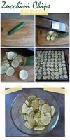 Zucchini chips are so yummy and so easy to make. One zucchini produces a pretty good yield but you should...
