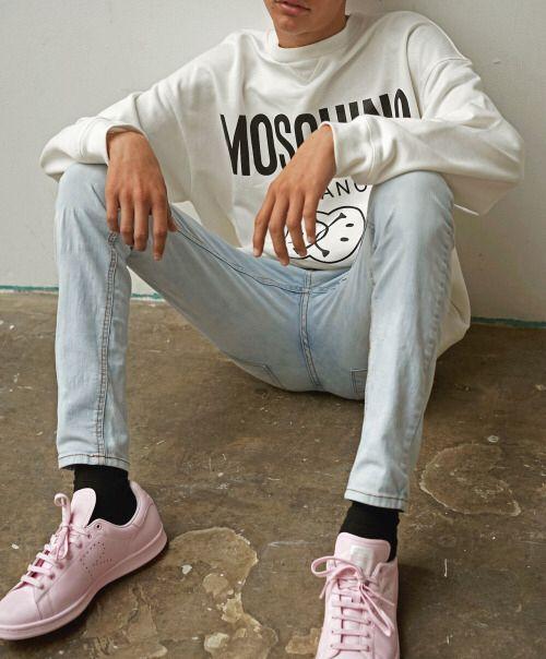 719f1dd02103 Moschino - adidas stan smith x raf simons pink!!!