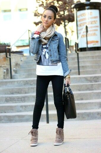 Maytedoll | High top sneakers outfit