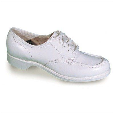 footthrills women's pert casual shoeswhite leather65 4a