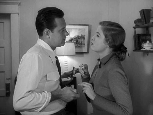 William Holden & Nancy Olson
