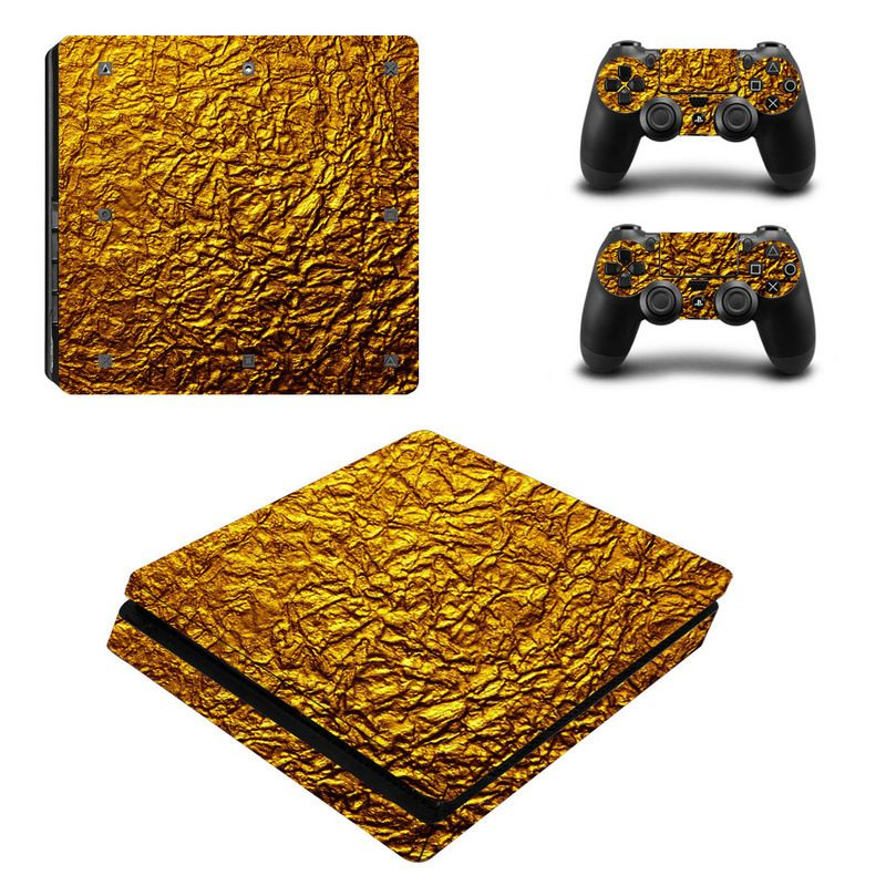 Cool Folding Design Protective Skin Sticker for PS4 Slim PlayStation, Console & Controllers