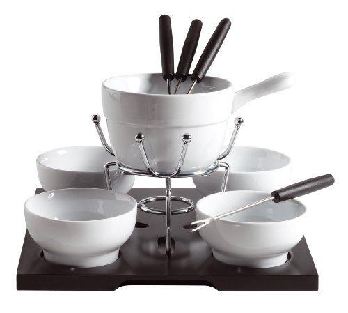 Accesorios para cocina y comedor   juego de fondue (12 piezas ...
