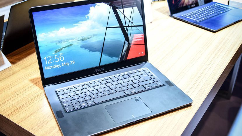 Asus Zenbook Pro Ux550 A Super Slim Super Strong Laptop Asus Cnet Internet Security