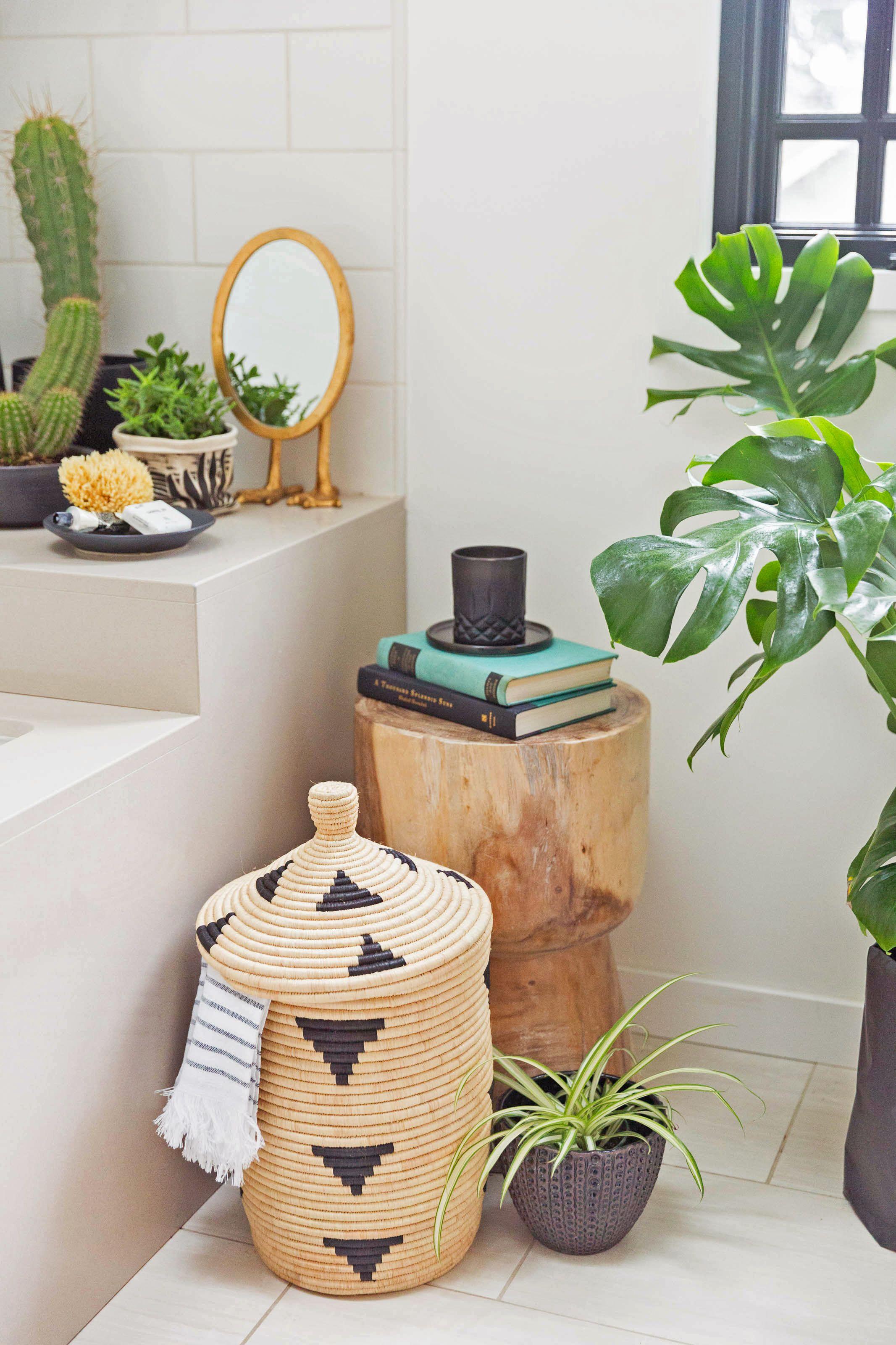 Tendencia bot nica plantas en el ba o tendencias de for Decoracion cuartos de bano