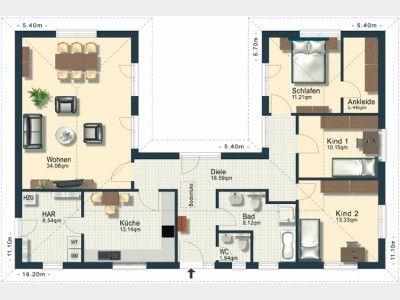 Haus bauen ideen grundriss  Grundriss EG | Ideen rund ums Haus | Pinterest | Tauschen ...