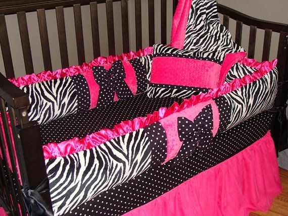Zebra Crib Bedding