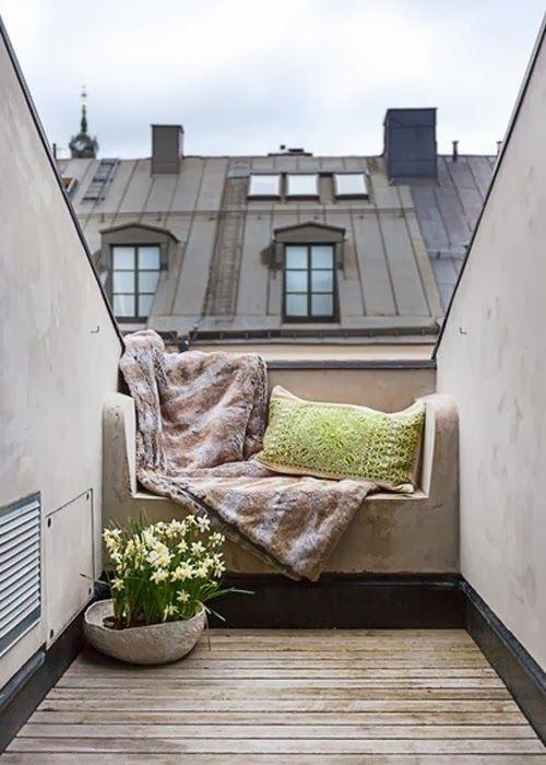 ChicDecó: 10 acogedores asientos de lectura bajo la ventana10 cosy window seats for autumn readings