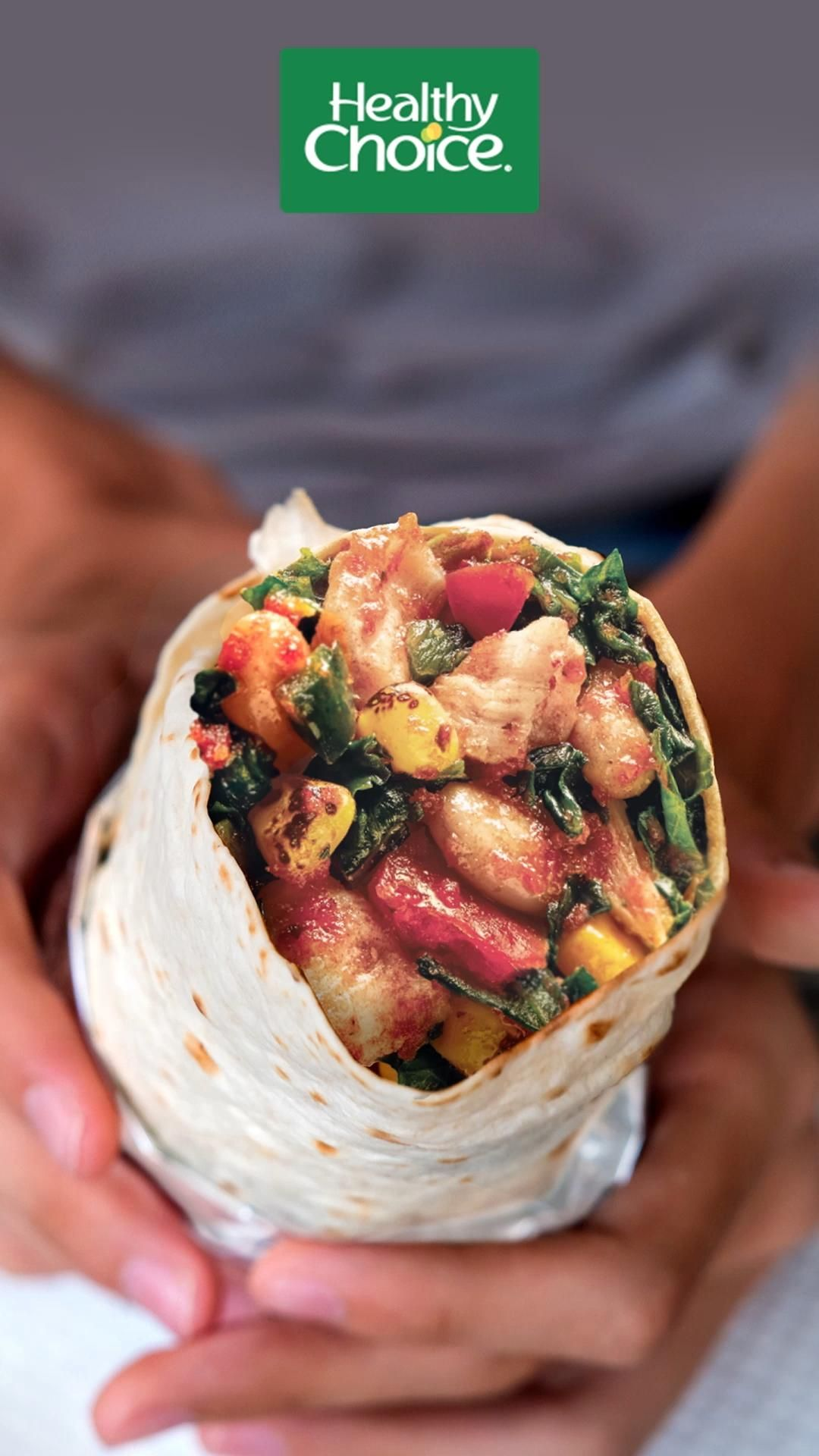 Introducing the Adobo Chicken Wrap from Healthy Ch