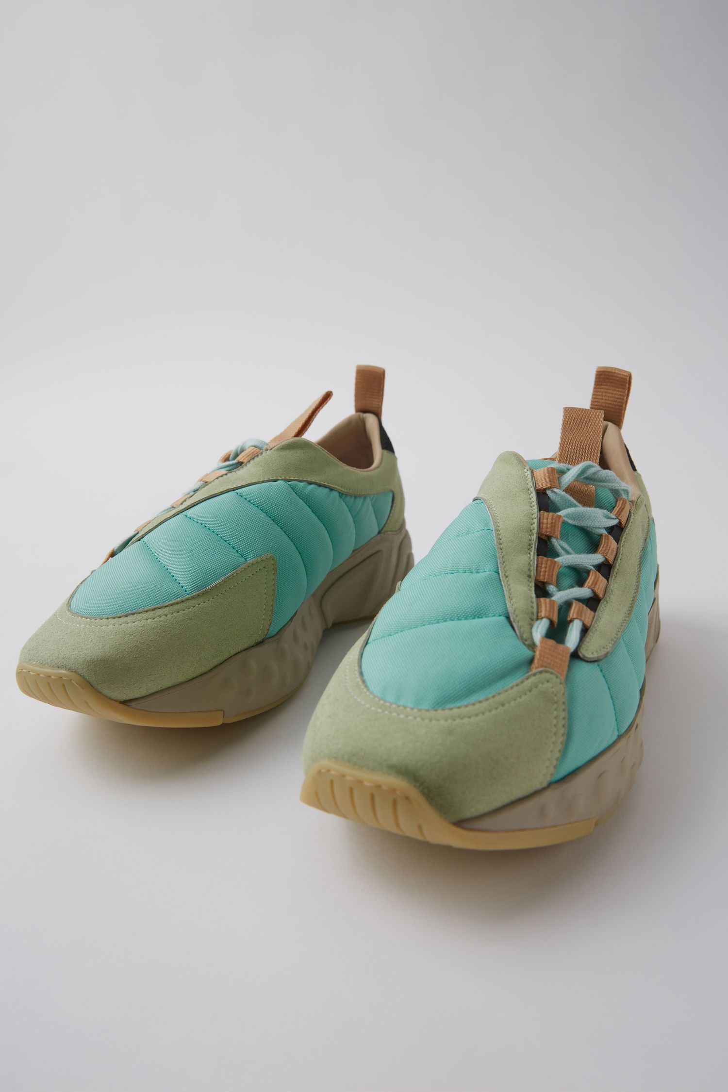 618fa4f277ca Acne Studios Sofiane Mint Green 1500x 003 Chaussure, Sandales, Chaussures  Chaussures De Sport,
