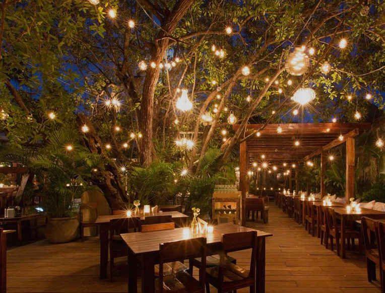 Somewhere Warmer Beach Escapes To Get You Ready For Spring Goop Outdoor Restaurant Patio Backyard Restaurant Outdoor Cafe