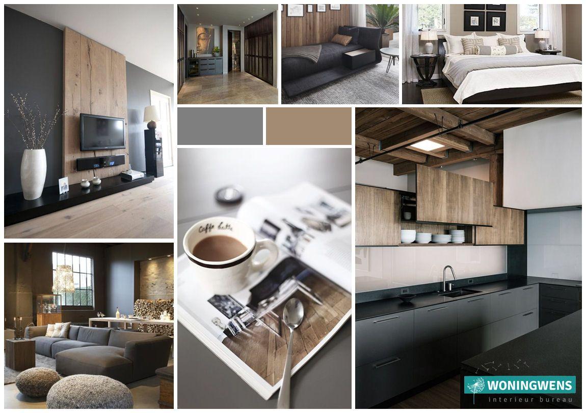 Interieuradvies Arnhem #Advies #collage #woonstijl #interieur #Woningwens #Design #kleuren #fotocollage #moodboard #interieurontwerp