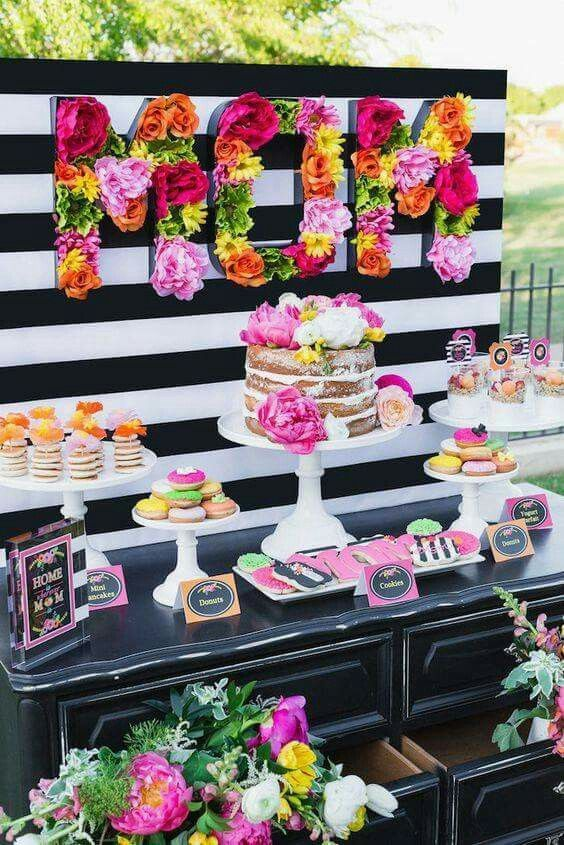 Instead of mom do initials for a girls party Parties Pinterest
